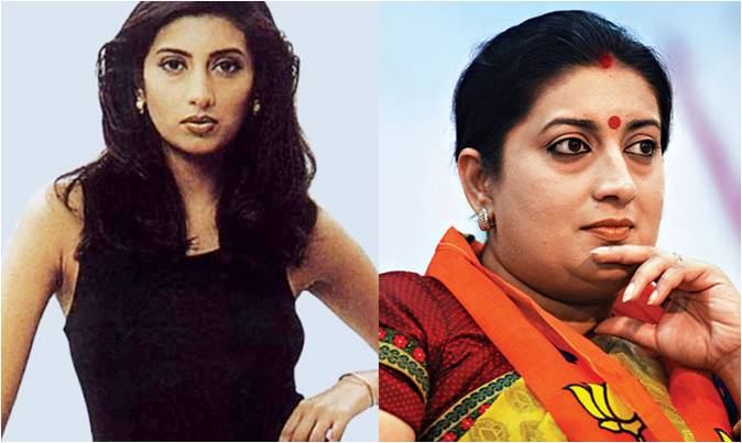 Journey of Smriti Irani from Miss India to HRD Minister