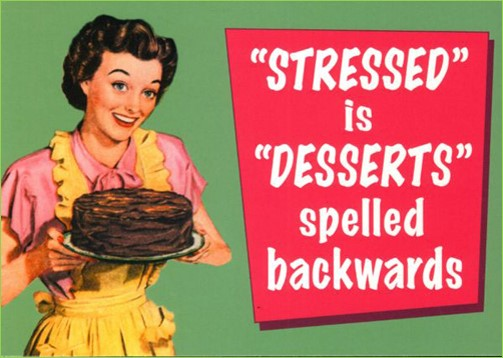 Stress- Don't let it stress you