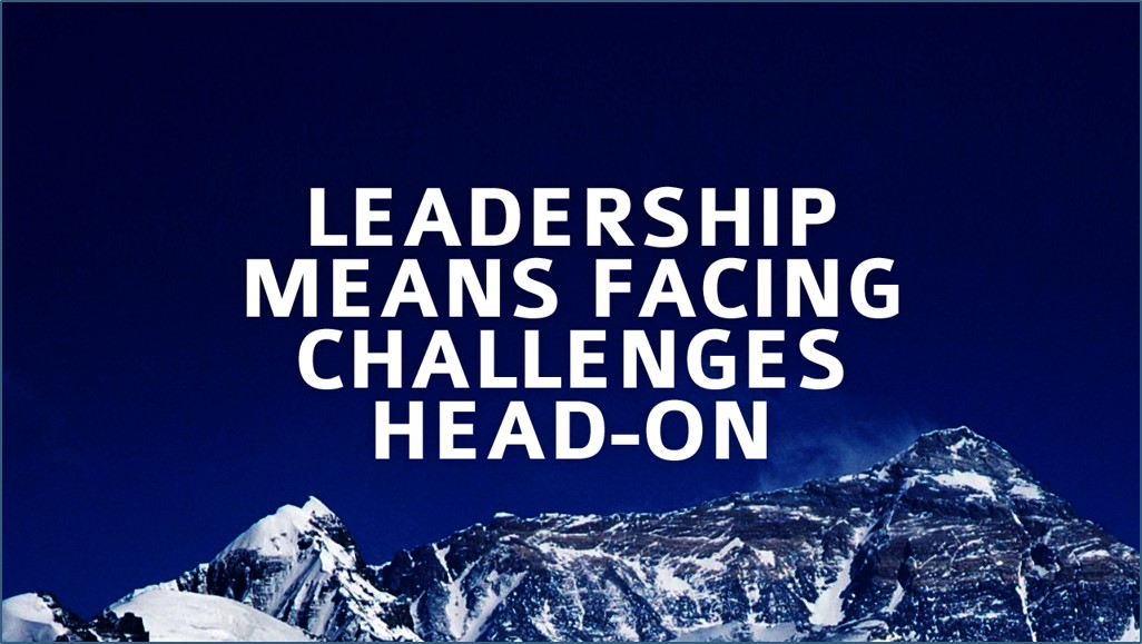 Mastering the leadership challenges