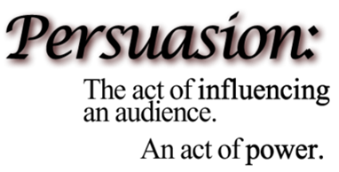 How to use persuasion to succeed