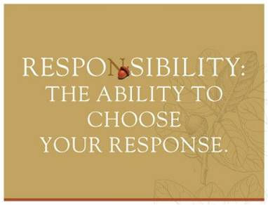 Are you responsible?