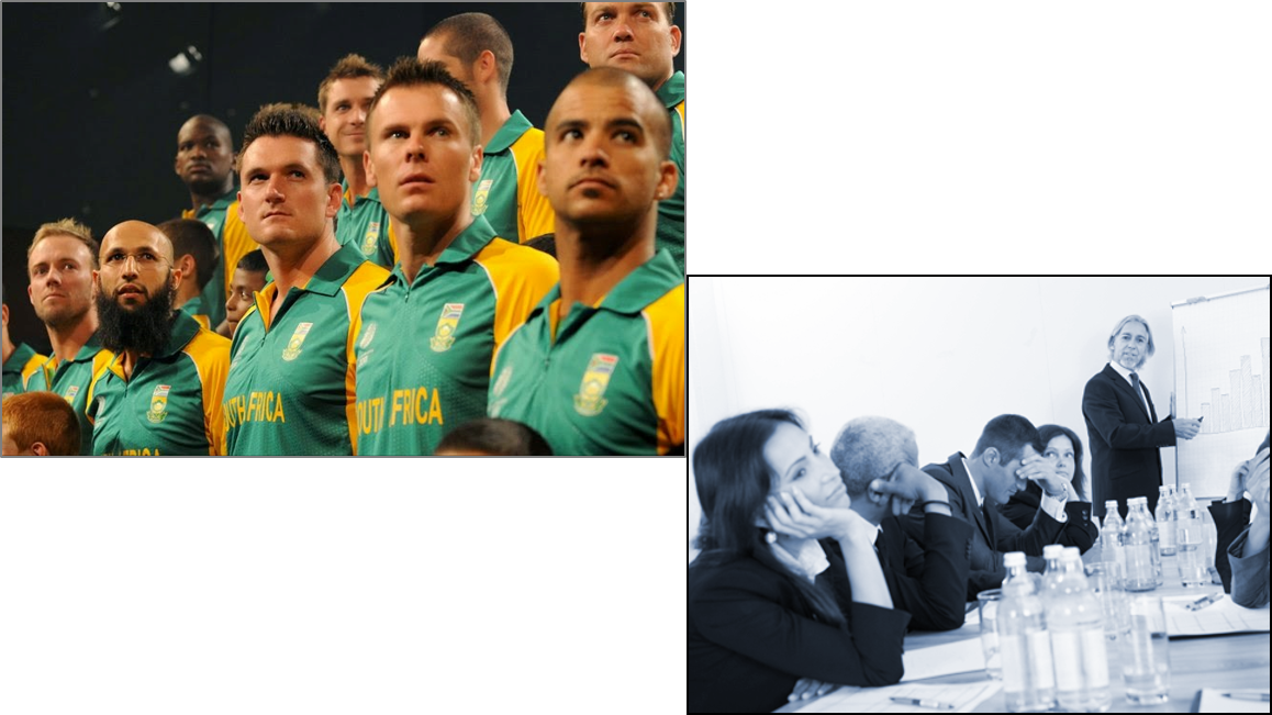 What to do if your team behaves likes South Africa cricket team  in World Cup -2015