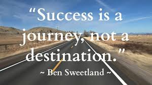 Success is a continuous journey